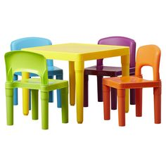 8d67e78eb5d Found it at Wayfair.ca - Kids 5 Piece Plastic Table and Chair Set