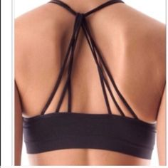 Sold listing @cdy1476 Black criss cross bralette nwt Vivacouture Intimates & Sleepwear Bras