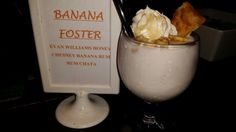 Life is short, so enjoy our Banana Foster's frozen cocktail at Mestizo Restaurant. Mexican Cocktails, Frozen Cocktails, The Fosters, Rum, Banana, Restaurant, Life, Food, Bananas