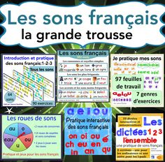 A bundle of resources to help you teach phonics, especially to Grade 1 French Immersion students. Une ressource complète pour enseigner les sons français, surtout pour l'immersion française première année.