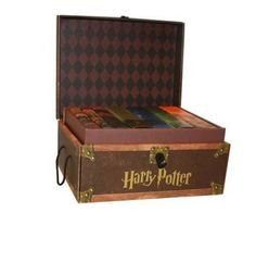 From his first appearance as a young orphan entering Hogwarts School of Witchcraft and Wizardry to his final showdown with Voldemort, Harry Potter has become one of the most cherished characters in history. Now, collectible hardcover editions of all seven books in J.K. Rowlings phenomenal bestselling saga are snugly packed in a decorative, trunk-like box with sturdy handles and a privacy lock, acc