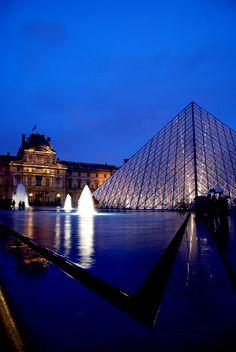 Musée de Louvre in Paris, France