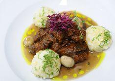 Vörösboros marharagu parmezángombóccal Beef, Food, Meat, Essen, Meals, Yemek, Eten, Steak