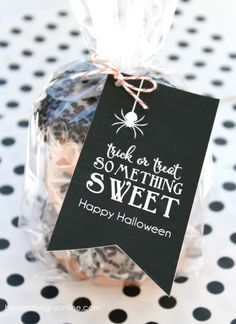 Trick or Treat, Something Sweet free tag