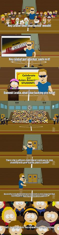 South Park What is with Leslie?