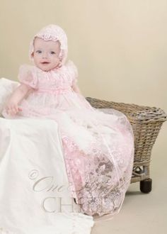 Caryssa Christening, Baptism or Blessing Gown