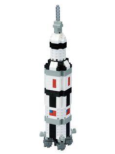 Nanoblock Saturn V Rocket #museumofflight