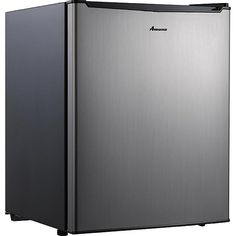 Amana 2.7 Cu ft. Refrigerator - Faux Stainless Steel