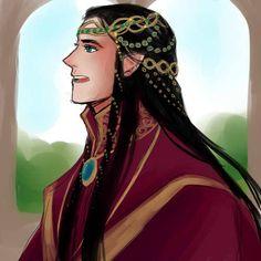 Fëanor, in happier days.