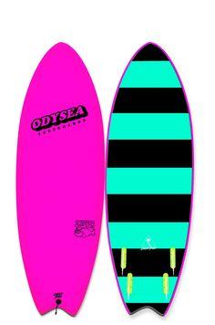 "Catch Surf Odysea Skipper 5'6"" Quad Surfboard"