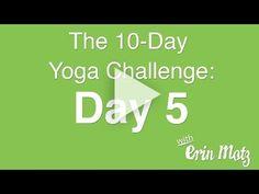 10 Day Yoga Challenge: Day 5