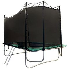 15x17 Rectangle Texas Extreme Trampoline with Enclosure