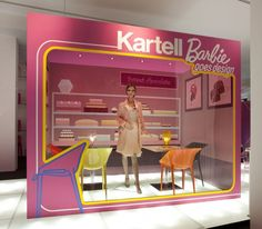 Barbie goes design with Kartell