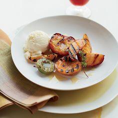 Grilled Desserts on Food & Wine