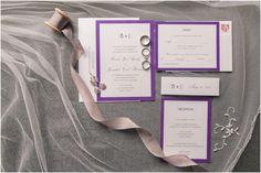 Purple Wedding Arrangements, Country Club Wedding, Rsvp, Reception, Receptions