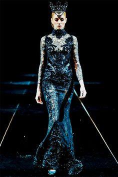 Michael Cinco Haute Couture Fall/Winter 2013/2014 at Fashion Forward, Dubai