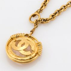 Chanel CC Necklace Gold (Authentic Pre Owned) - 1981016