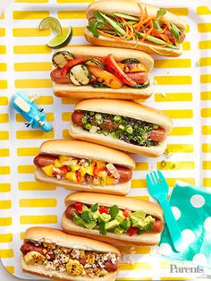 Grilled frankfurters are timeless, but that doesn't mean you have to settle for the usual ketchup or mustard routine.