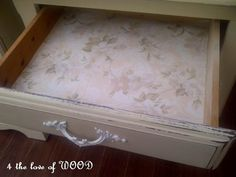 4 the love of wood: CUPBOARD WAXING - shabby chic cupboard nightstands
