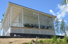 Balcony glazings and glass terraces Terrace, Helmet, Glass, Outdoor Decor, Home Decor, Balcony, Decoration Home, Patio, Hockey Helmet