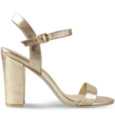 Combining a classically strapped upper with a sturdy block heel, these stunning sandals are the summer staple you need for work or play. With a premium metallic sock and high shine silver glitter sole, the Rayno is proof that the beauty is in the details. Bridesmaid Shoes, Gold Heels, Silver Glitter, Block Heels, Dance Shoes, Play, Sandals, Sandal