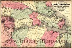 Peninsular campaign in Virginia