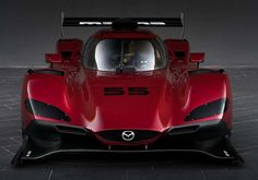 The new Mazda race car that produces 600 hp from a small two liter engine, was unveiled at the 2016 Los Angeles Auto Show. The new Mazda race car… Maserati, Bugatti, Lamborghini, Ferrari, Luxury Sports Cars, Sport Cars, Race Cars, Audi Rs, Honda S2000