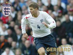 downloads Wallpapers Steven Gerrard  England 2012