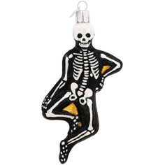Mr. Bones Skeleton Glass Ornament $19.99
