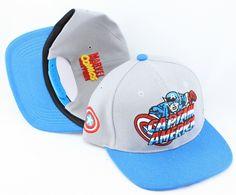 Captain America Snapback Hat (3) , sale  $6 - www.hats-malls.com