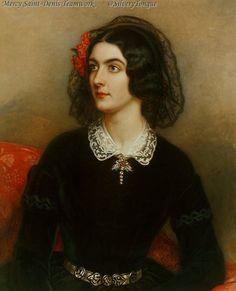 Joseph Karl Stieler - Portrait the Lola Montez.