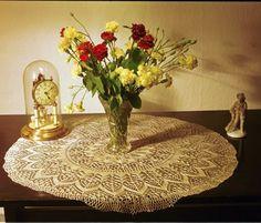 Free knit lace pattern