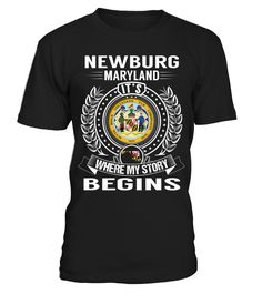 Newburg, Maryland - My Story Begins