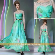 Dorisqueen evening dresses 2013 new arrival ______A-line elegant celebrity cocktail dresses with long sleeves 30903