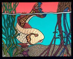 Mangrove Evening by lesliebaylinson on Etsy