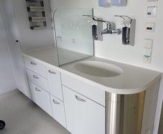 Waschtischlösung Patientenzimmer
