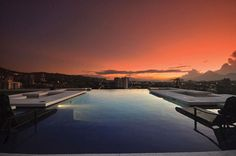 An international infinity pool design