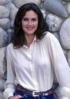 """nudes-des-artiste: """" This is our last image in the Lynda Carter series. We love the expression on her face and they way her left nipple is almost slicing through the sheer fabric of her blouse. Women We Love: Lynda Carter Our Current Theme: Celebrity. Linda Carter, Wonder Woman, Look Body, Manequin, Non Blondes, Jolie Photo, Gal Gadot, Celebs, Celebrities"""