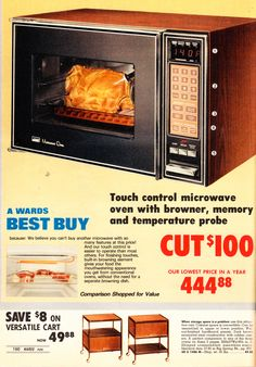 1978 Montgomery Ward catalog — Look at the price tag on that bad boy! I remember I bought my mom one for and thought I was getting a good deal!