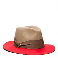 I think like coach poppy blossom fragrance, this hat shows the same free spirit, of life   #coachpoppyblossom