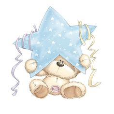 Cuddly Fizzy Moon bears on Daisytrail Illustration Mignonne, Cute Illustration, Art Illustrations, Tatty Teddy, Cute Images, Cute Pictures, Fizzy Moon, Moon Bear, Blue Nose Friends
