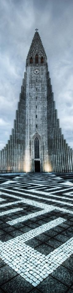 Incredible Picture Hallgrimskirkja, Reykjavik, Iceland