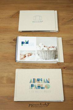 Álbum-personalizado con espiral-Adrian-y-Pablo