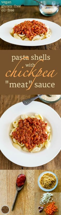 Make on the stovetop or in your pressure cooker, this tasty #oil-free, #gluten-free, #vegan sauce is hearty and delicious! Easy recipe via An Unrefined Vegan.