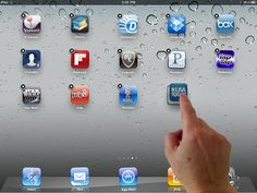 How to Create Folders and Organize iPad Apps I discovered this by accident.  Now I have my OT useful apps organized into folders by type and can easily locate them and let a student choose from appropriate apps.  My personal apps are also stored this way and are not visible to the students.