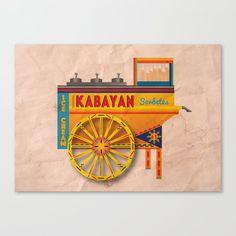 Sorbetes / Traditional Filipino Ice Cream Art Print by hque Filipino Art, Filipino Culture, Canvas Art, Canvas Prints, Art Prints, Ice Cream Art, Philippine Art, Jeepney, Philippines Culture