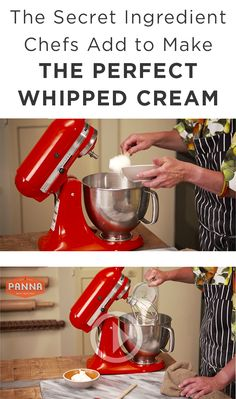 The secret ingredient in Nancy Silverton's Fresh Whipped Cream is ...
