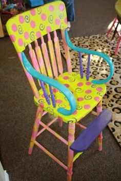 ... Kids Chair on Pinterest  Kid Chair, Rocking Chairs and School Chairs