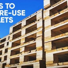 5 Easy Steps to Making Sure Wooden Pallets Are Safe to Reuse for Your Projects Wooden Pallet Crafts, Wooden Pallet Furniture, Diy Pallet Projects, Wooden Pallets, Woodworking Projects, Pallet Picture Frames, Pallet Pictures, Pallet Bed Frames, Pallet Potting Bench