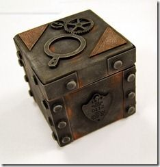 box ceramics coppertronic home pottery steampunk